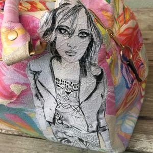 Kime Buzzelli VANS colorful art satchel limited ed